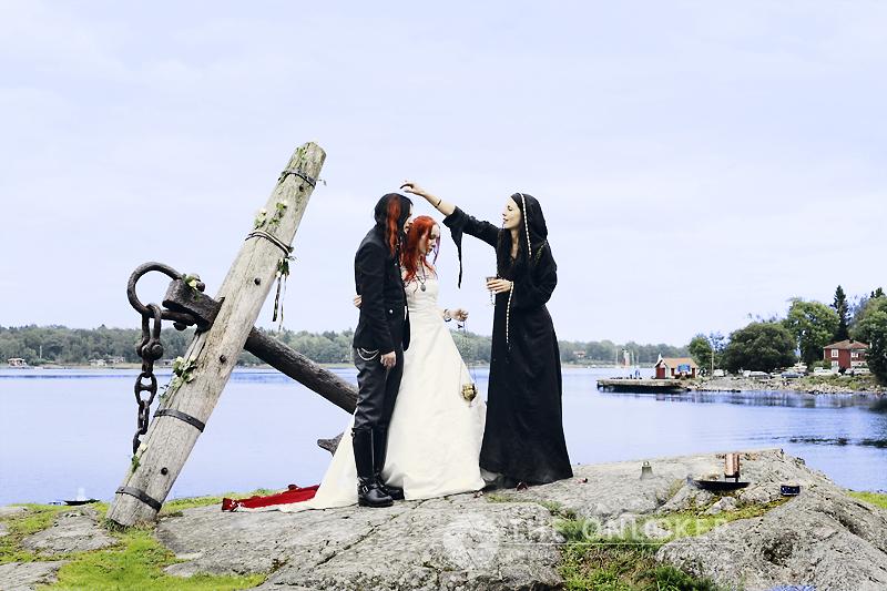 mariage cérémonie viking
