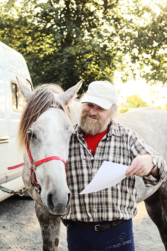 homme et son cheval