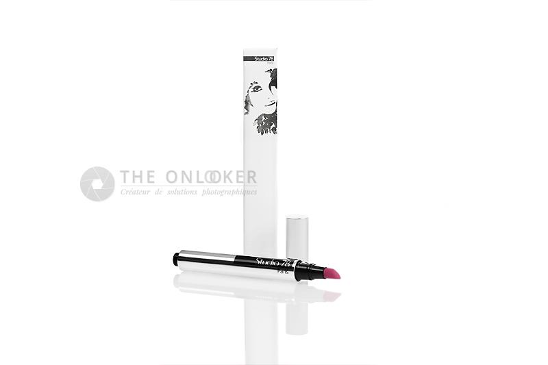 packshot stylo à lèvres