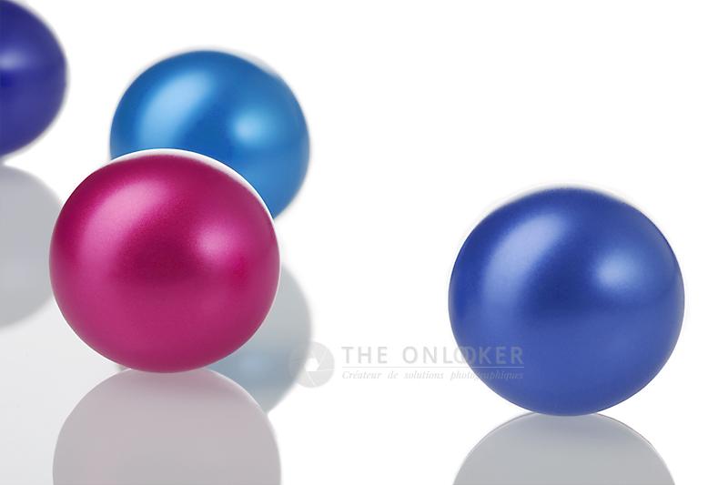 perles de bain nacrées gamme