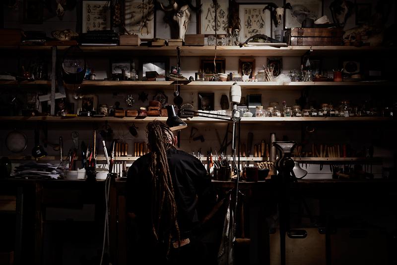 atelier bijoutier d'art