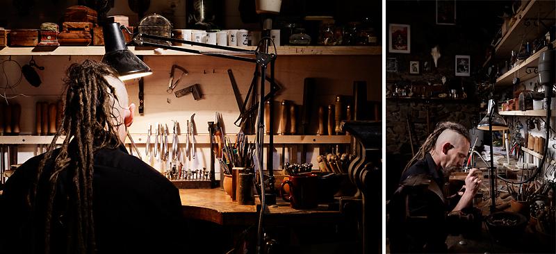 bijoutier d'art atelier