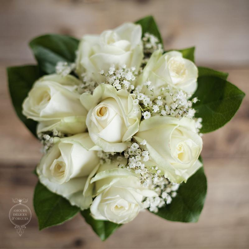 bouquet de mariage photographe