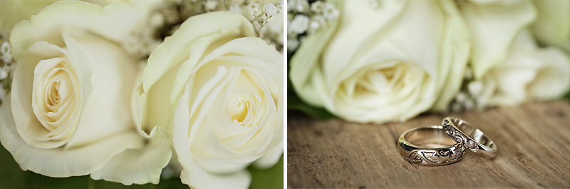 bouquet roses blanches mariage