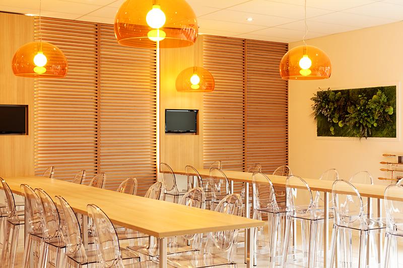 aménagement cafeteria professionnelle